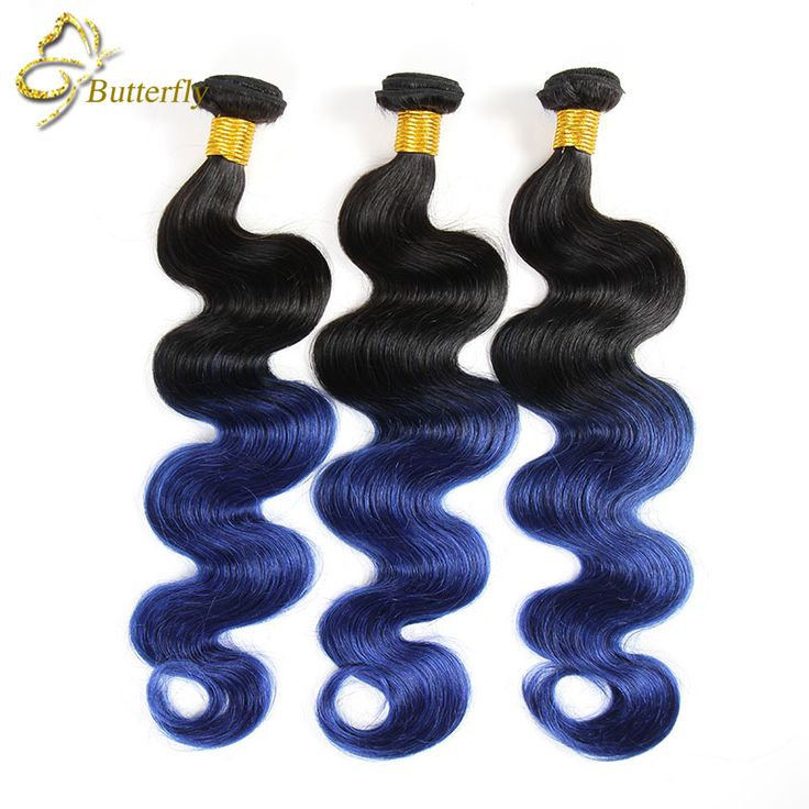 Ombre Brazilian Hair Blue Ombre Weave 3 Bundles Brazilian Hair Weave Bundles Ombre Body Wave Brazilian Blue Ombre Human Hair-in Human Hair Extensions from Beauty & Health on Aliexpress.com | Alibaba Group