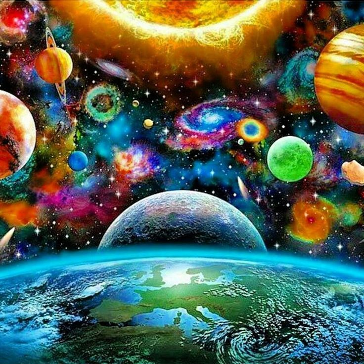 trippy planets - photo #45