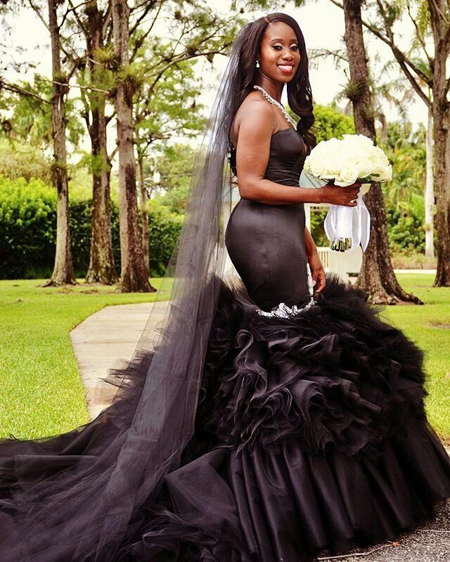 black-wedding-dress-pictures