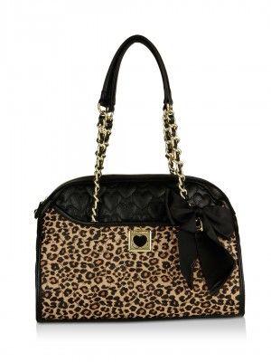 Steve Madden Animal Print Handbag From Koovs