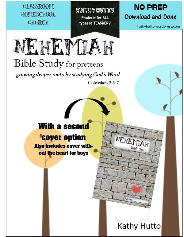 Bible study lesson on nehemiah