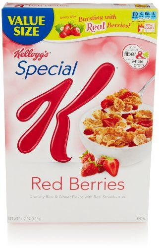 Kellogg's Special K Cereal, Red Berries, 14.7 Oz - http://sleepychef.com/kelloggs-special-k-cereal-red-berries-14-7-oz/