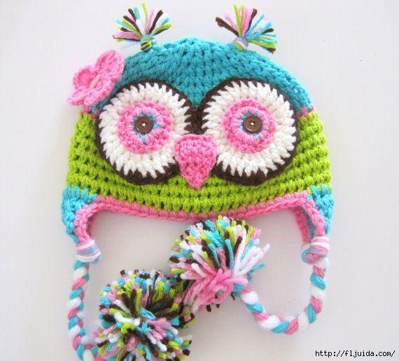 1000 Images About Crochet Owl Hats On Pinterest Crochet