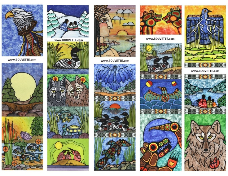 Free Métis Bookmarks to print out by Ayla Bouvette-stunning, gorgeous!