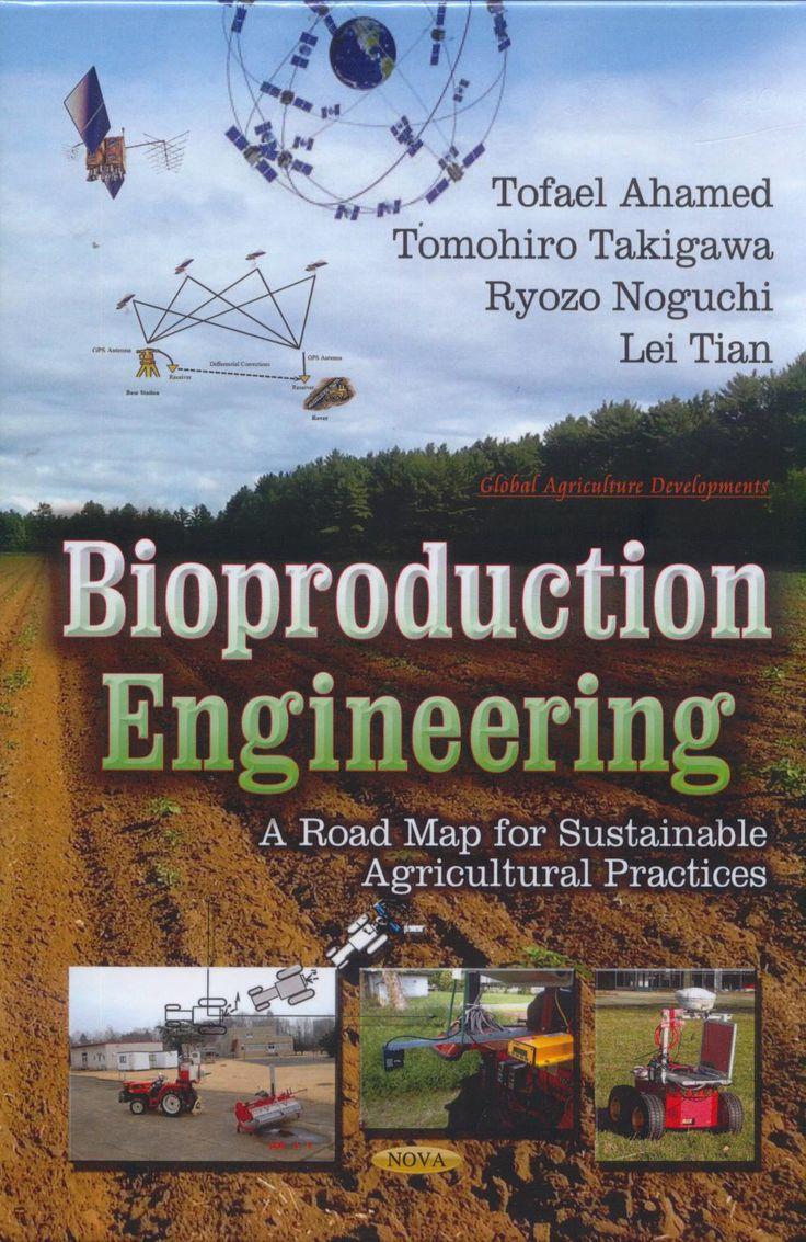 338.1 B56 2014 Ingeniería Bioproducción. El desarrollo de tecnologías que les permita lograr una agricultura sostenible es un elemento clave de las ciencias agrícolas en el siglo 21, este siglo se enfrenta a varios problemas, como la escasez de alimentos, la degradación ambiental, la escasez de agua / tierra, alta dependencia energética, el cambio climático, la seguridad alimentaria. Este libro repasa estas tecnologías y sus antecedentes teóricos y es una buena guía introductoria a la…
