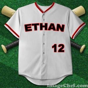 Baseball Jersey Image