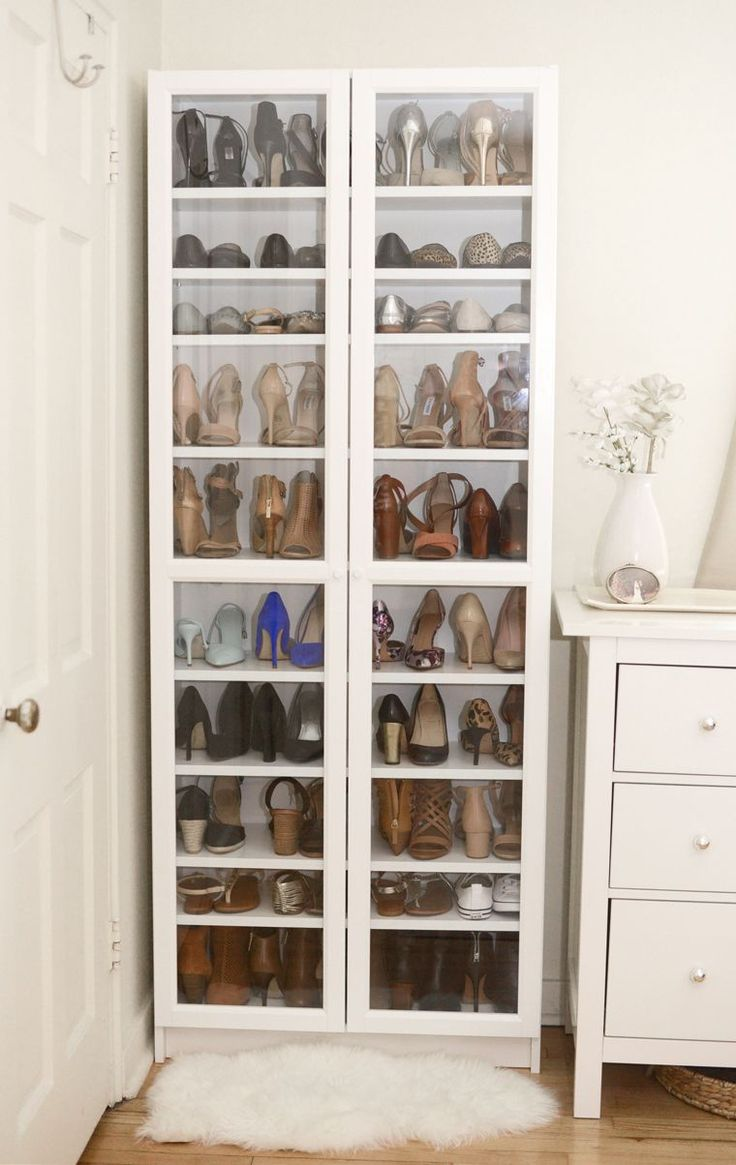17 best images about shoe organizing on pinterest professional organizers closet and closet - Shoe organizers for small spaces design ...