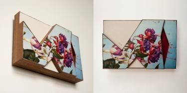"Saatchi Art Artist Patrick Furse; Collage, ""Prize Hanging"" #art"