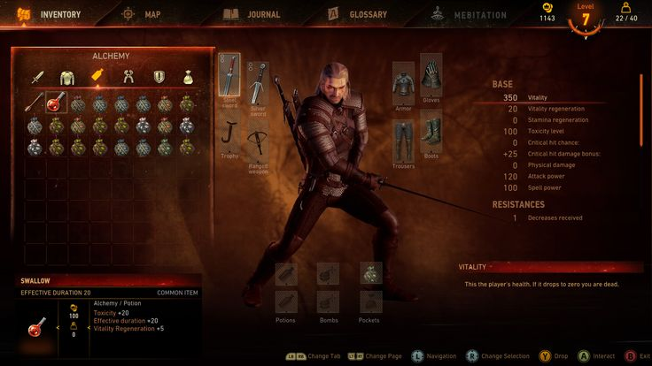 the witcher 3 wild hunt ui - Google 검색