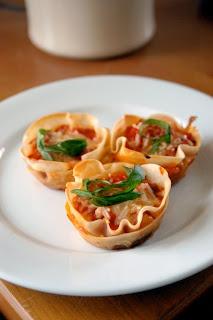 Cupcake Lasagna by kristinandparisa #Mini #Lasagna #kristinandparisa