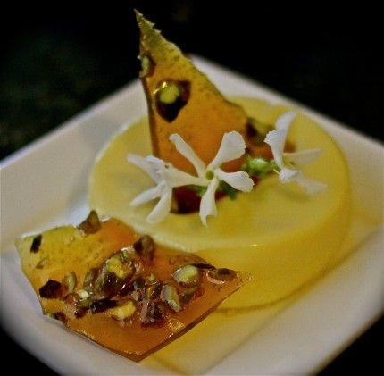 Best Home Chef Recipe -- Honey Saffron White Chocolate Panna Cotta ...