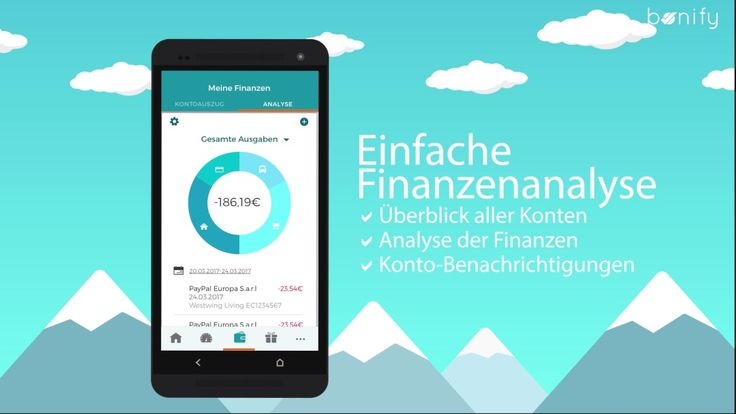 bonify hilft Dir Deine Finanzen zu verwalten - Wie?