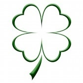 Shamrock : Four leaf clover illustration