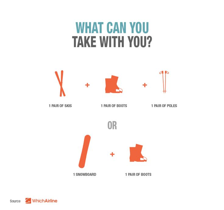 What Can You Take With When Flying To Your Ski Resort Details At