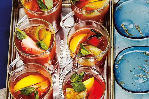 Find the recipe for Pimm's Iced Tea and other liqueur recipes at Epicurious.com