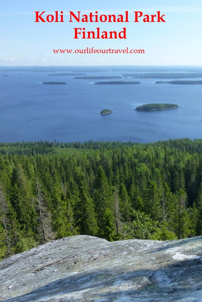 Visiting Koli National Park and hiking on the Herajärvi trail during the summer.