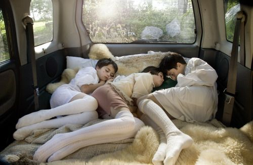 hieronymusdreaming:  Anthony Goicolea - Back Seat - Manipulated Photography