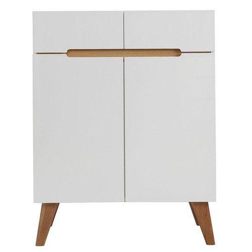 Popular Milan Direct Finn Scandinavian Highboard with Drawers Doors