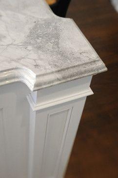 Kitchen Island Granite Edges