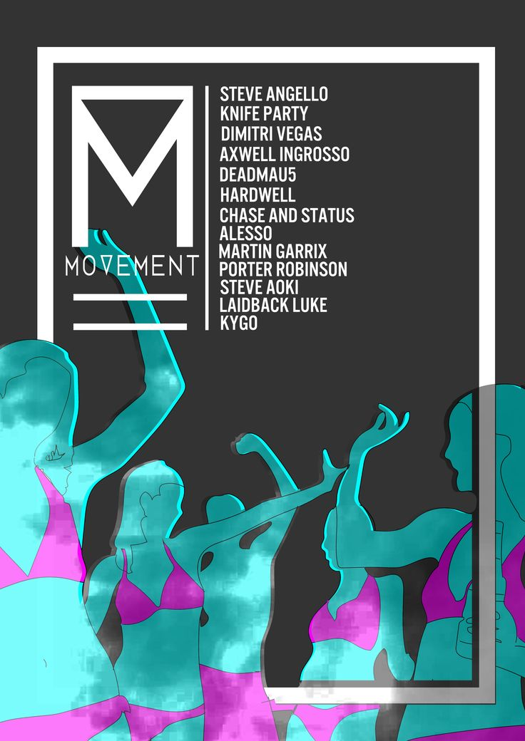 Movement Music Festival Poster: FMP Year One