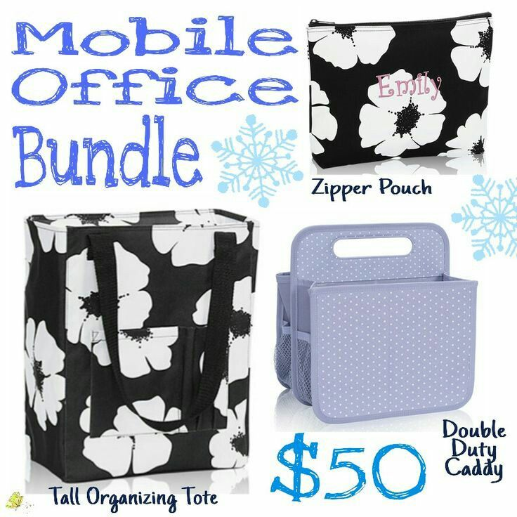 Mobile Office Bundle - $50 Qualify to add a Tall Organizing Tote for $10 with every $35 you spend. www.funkytotesandpurses.com www.facebook.com/funkytotesandpurses