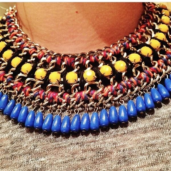 I love Zara. and statement necklaces. ✨ by Stephanie