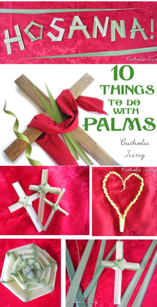 10 things to do with palms for Palm Sunday #Lent