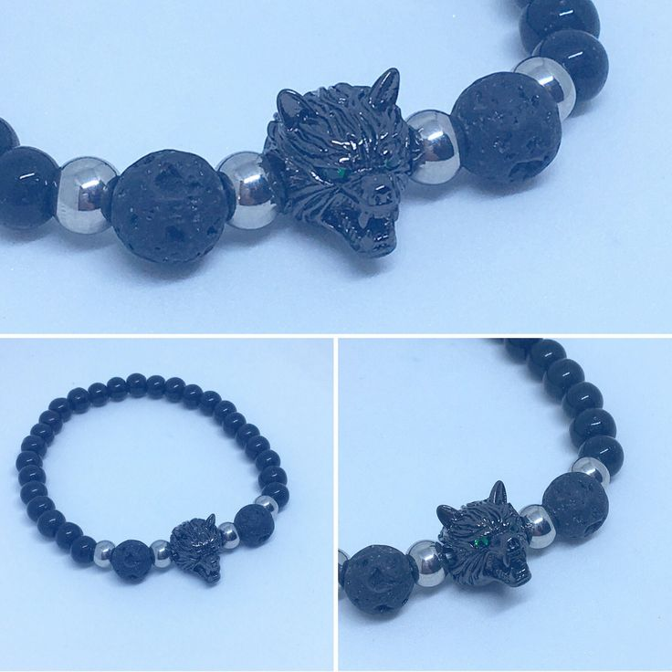 A personal favorite from my Etsy shop https://www.etsy.com/ca/listing/597836941/mens-diffuser-bracelet-wolf-diffuser