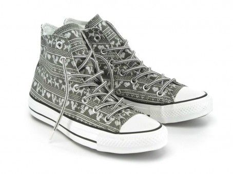 Converse Chuck Taylor All Star Hi Wilderness Sweater Charcoal 532141  3200р.