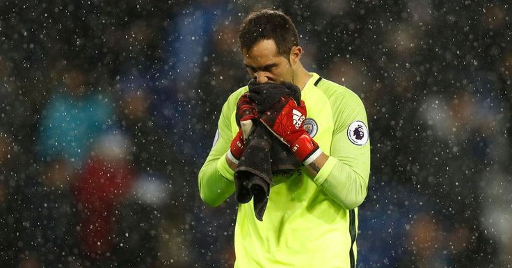 10 things more useful than Claudio Bravo was during Manchester City's horrific loss at Leicester - Mirror Online