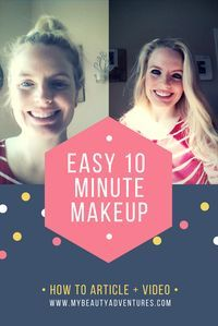 My third How-To and Youtube video is here helping you create an easy, everyday makeup look in 10 minutes.  Check out mybeautyadventures.com to see this great look.   #fashion, #style, #beauty, #makeup, #nars, #maybelline, #cover girl, #shopping, #mybeauty