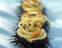 Linguine ai ricci di mare #ricette #pesce