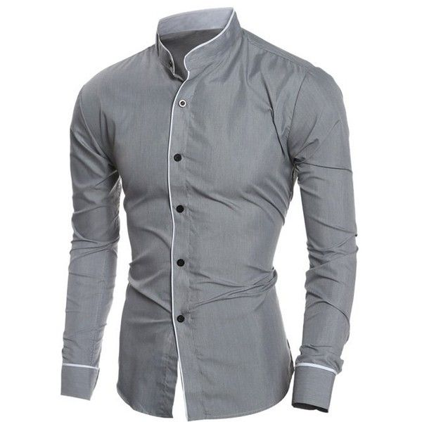 Best 20  Grandad collar shirt ideas on Pinterest | Men shirt ...
