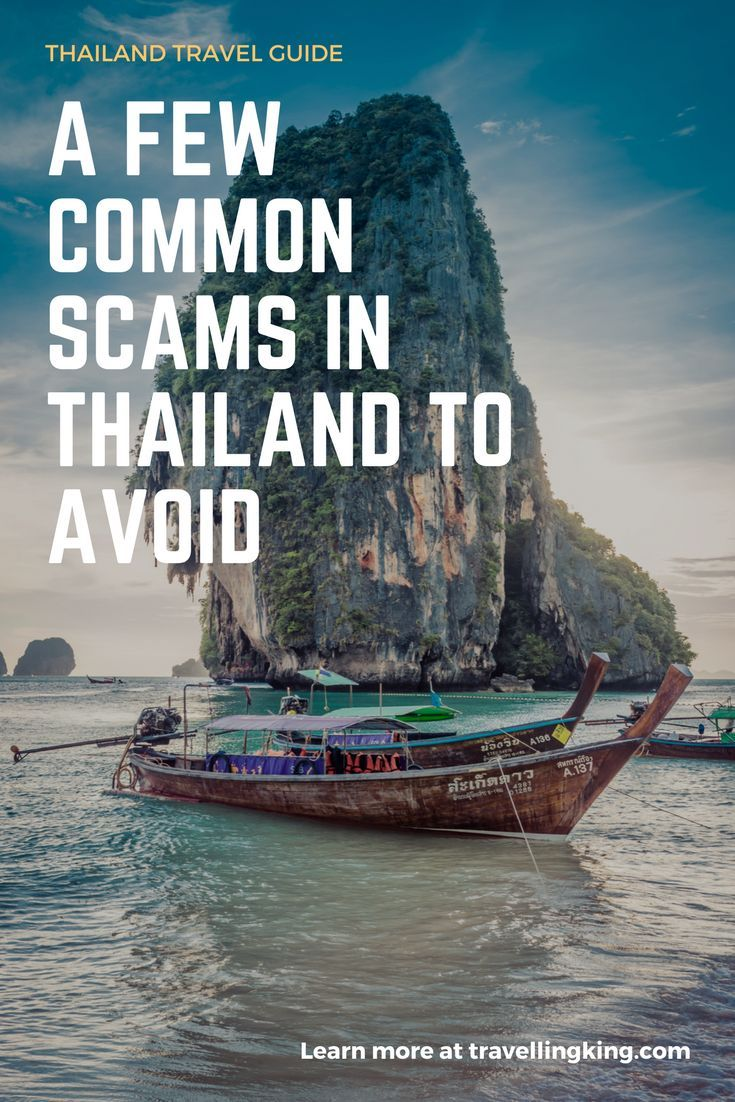 A few common Scams in #Thailand to Avoid #Thailand
