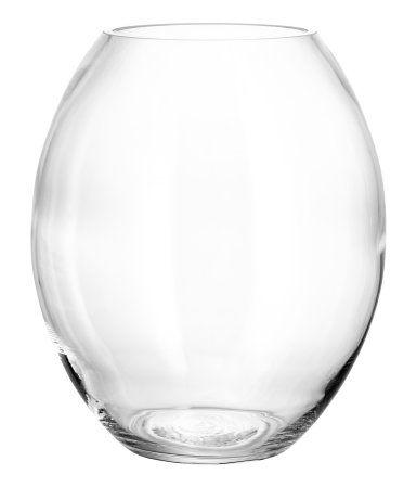 Große Glasvase | Klarglas | Home | H&M DE