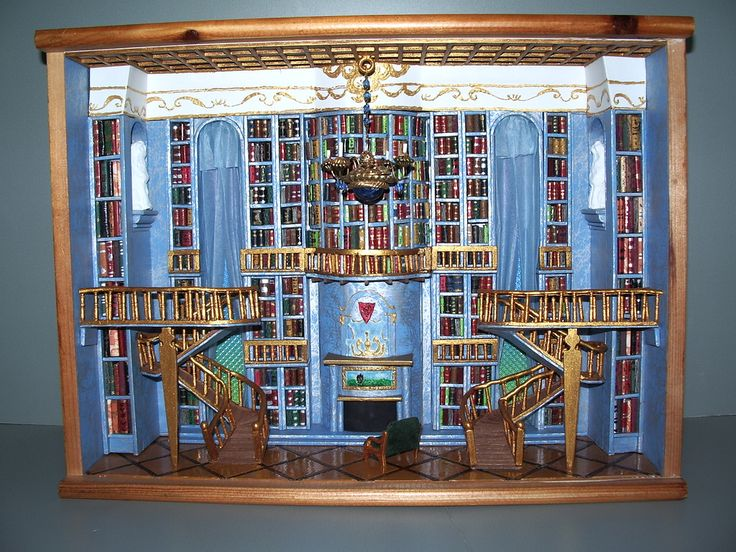 It looks like the library from Beauty and the Beast.