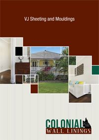 Download the catalog here. VJ Wall and Ceiling Linings - Colonial Wall Linings