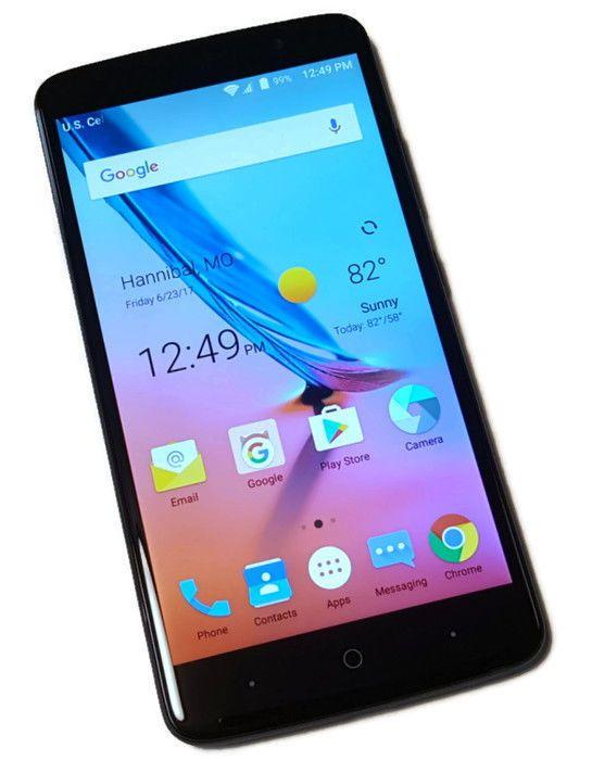 US Cellular ZTE Blade Max 3 Blue 16GB Z986U Clean ESN Smartphone Android #4958 #ZTE #Smartphone