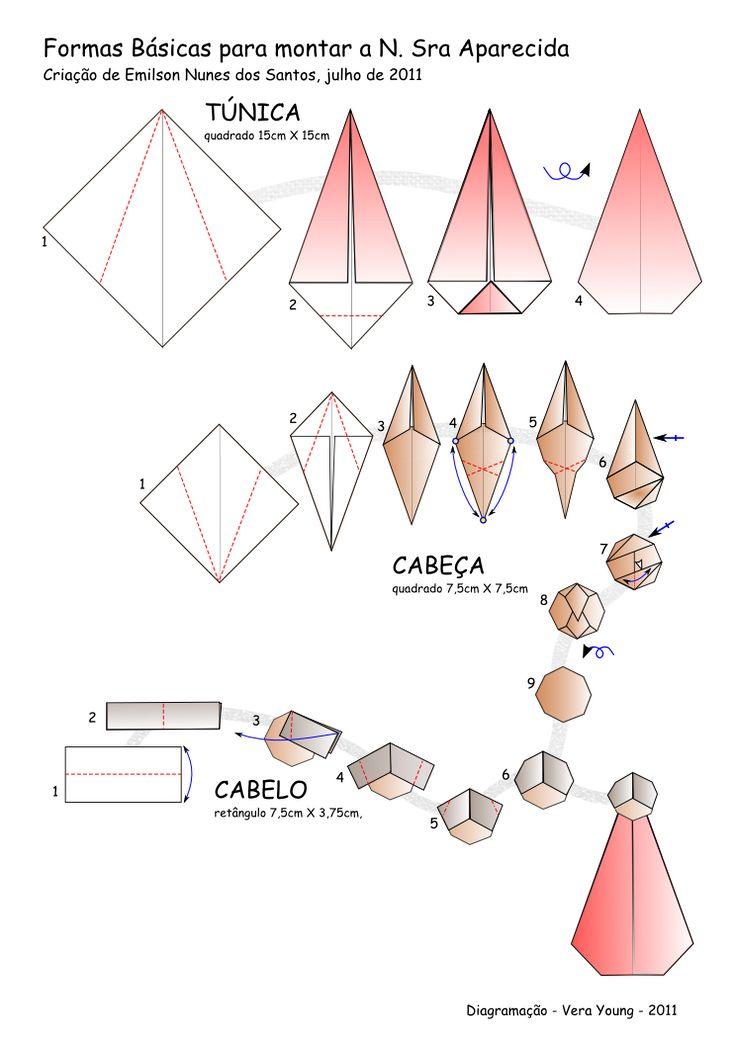 7 Best Oregama Images On Pinterest Origami Christmas Nativity