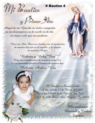 imagenes de invitaciones para bautizo | Posted by Treasure Image at 7:37 PM