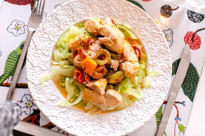 Kyckling i Chipotlesås och ekologisk prosecco