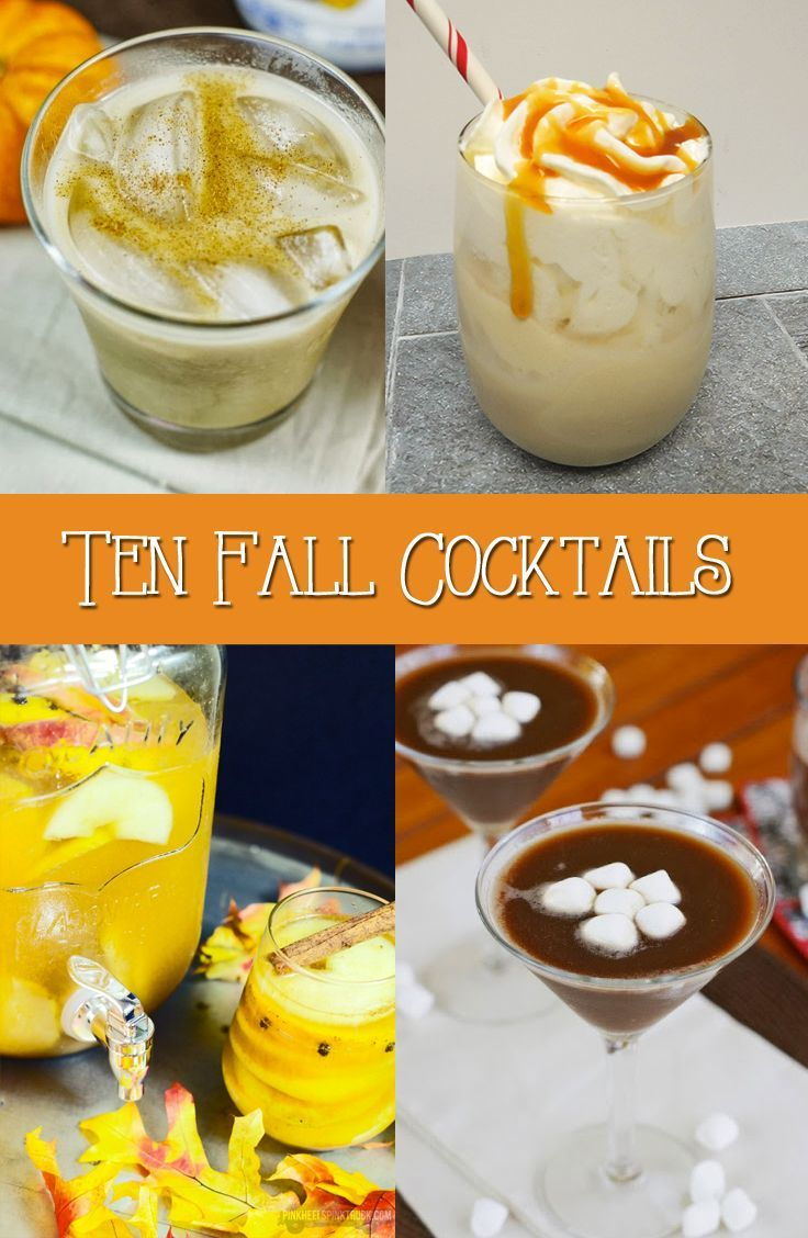 Mommy Juice Fall Cocktails Homemade Thanksgiving And