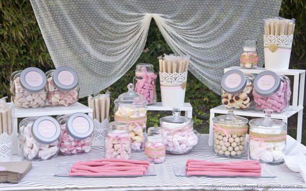 Candy Bar para bodas: Cómo organizarlo y montarlo. ¿Quieres poner el toque dulce y original a tu boda con un Candy Bar? ¡Apunta estos consejos!