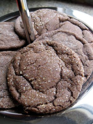 dutch cocoa cookies - nearly identical to archway dutch cocoa cookies! delish! next time i'm going to sub some brown sugar for white sugar and add some dark chocolate.