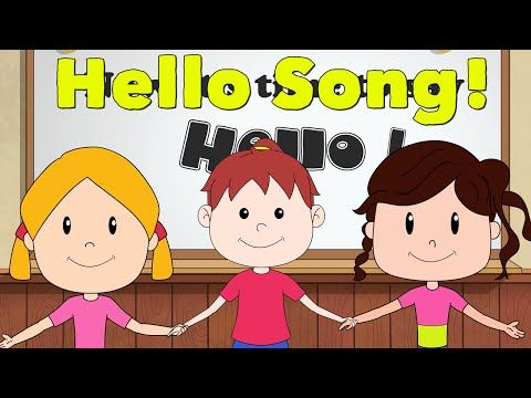 Hello Song for Children | Kindergarten and Preschool | by ELF Learning - YouTube