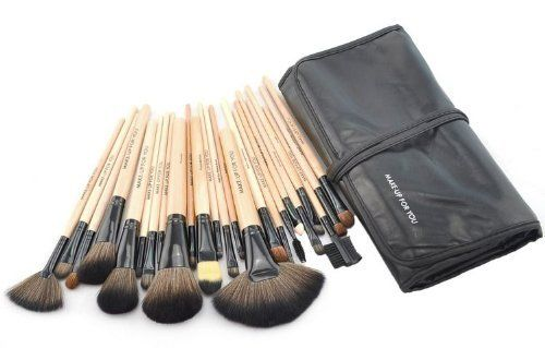 1 Set(24 pezzi) Pennelli Cosmetico Professionale Naturale per Ombretto Trucco | Your #1 Source for Health & Personal Care Products