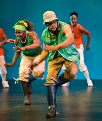 Step Afrika!   Ottawa International Childrens Festival  For nearly two decades, Step Afrika! has been dedicated to elevating stepping, a casual form of tap dancing that has long been popular at historically black colleges, from a campus contest to performance art, which combines Zulu dance, African gumboot, and modern fraternity style stepping in a fast paced and high-energy performance.