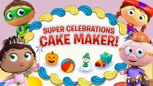 Super Celebrations Cake Maker! | Super Why! | PBS KIDS ABC Games | Celebrate and decorate your own cake!