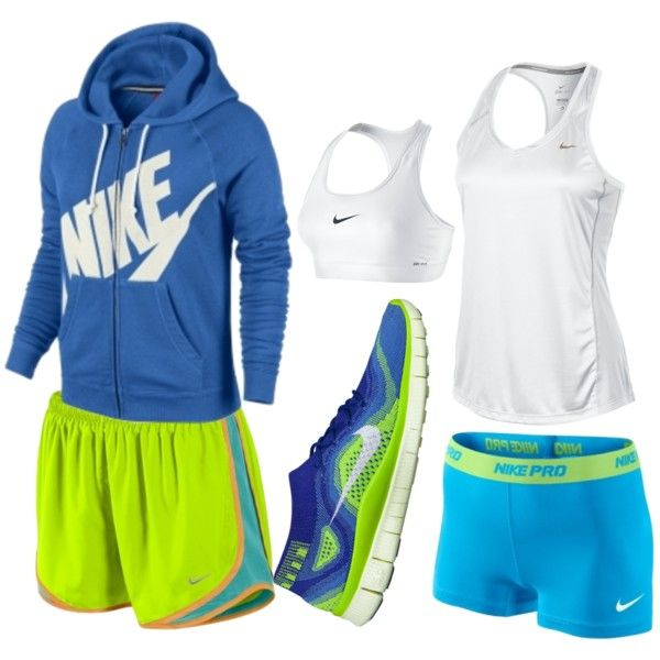 Nike running gear. I LOVE this.