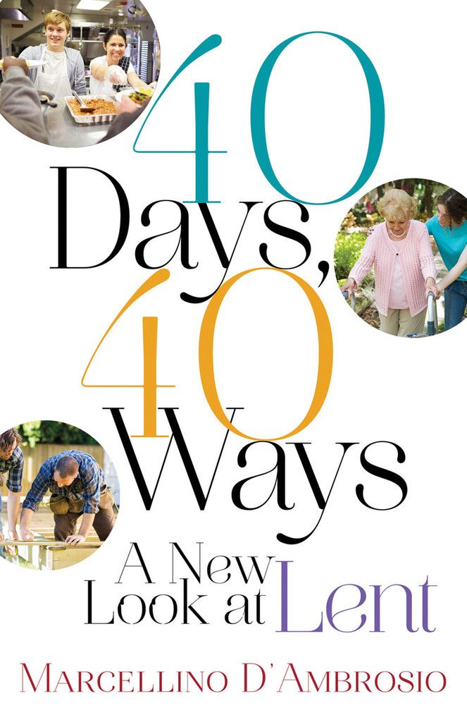If you're looking for a new Lenten experience, here are forty fresh ideas!